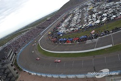 Restart: Dale Earnhardt Jr. leads the field