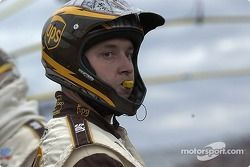 UPS Ford crew member ready for next pitstop