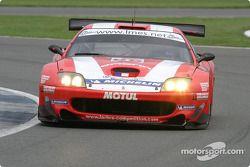 La Ferrari 575 Maranello n°86 Larbre : Pedro Lamy, Christophe Bouchut, Steve Zacchia