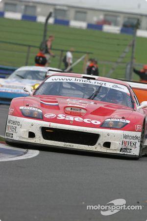 La Ferrari 575 Maranello n°62 Barron Connor Racing : Mike Hezemans, Jean-Denis Deletraz