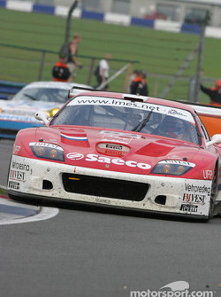 La Ferrari 575 Maranello n°62 Barron Connor Racing : Mike Hezemans, Jean-Denis Deletraz