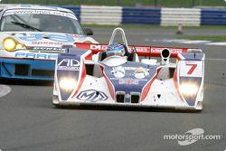 La n°7 RML MG Lola : Thomas Erdos, Miguel Ramos, Mike Newton