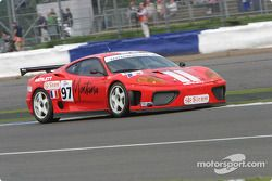 La Ferrari 360 Modena n°97 Auto Palace : Steeve Hiesse, Gian Paolo Ermolli, Giovanni Lavaggi