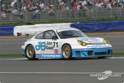 La Porsche 911 GT3 RSR n°71 JWR Mike Jordan : Mike Jordan