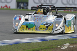 La SR2 Nissan n°31 Palmyr Lucchini : Christophe Ricard, Philippe Favre, Gregory Fargier