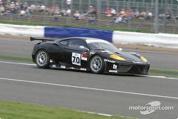 La Ferrari 360 Modena n°70 JMB Racing : Roman Rusinov, Stéphane Daoudi