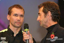 Glen Richards et Steve Parrish