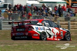 Mark Skaife finished behind team mate Todd Kelly during qualifying