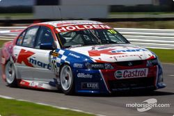 Rick Kelly couldn't improve his qualifying time
