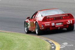#51 DAL Motorsports Acura NSX: Pete Halsmer, Robert Morrison, Vaughn Duarte