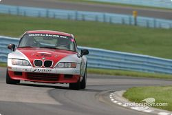 La BMW Z3 n°36 Compass360/Racing : Jody Trudeau, Karl Thomson