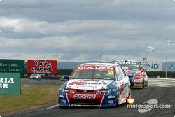 Greg Murphy on pit straight