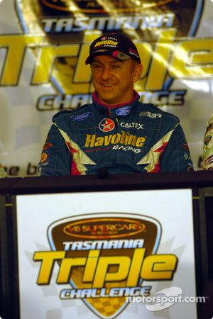 Russell Ingall est tout sourire