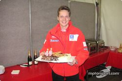Timo Rautiainen celebrates his 40th anniversary
