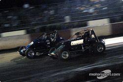 Rick Ziehl et le pilote de Sprint Car de Hawaii Adam Ah Sing