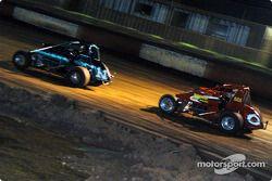 Le pilote de Sprint Car de Hawaii Ikaika O'Brien et Don Grable