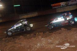 Le pilote de Sprint Car de Hawaii Brandon Ternora et Leighton Crouch