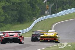 La Toyota Doran n°27 Doran Lista Racing : Didier Theys, Jan Magnussen, Fredy Lienhard, et la Pontiac