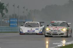 La Lexus Doran n°6 Michael Shank Racing : Oswaldo Negri Jr., Burt Frisselle, et la Porsche GT3 Cup n
