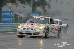 La Porsche GT3 Cup n°36 TPC Racing : Randy Pobst, Michael Levitas, Mike Rockenfeller
