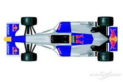 Testlackierung von Red Bull Racing