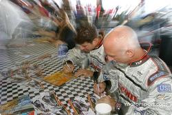 Séance d'autographes : Cort Wagner et Brent Martini