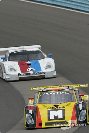 #9 Mears Motor Coach Speedsource Pontiac Riley: Paul Mears Jr., Mike Borkowski, Sylvain Tremblay