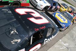 Une scène de course avec la Chevrolet n°3