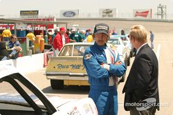 Barry Pepper as Dale Earnhardt with David Sherrill as Humpy Wheeler