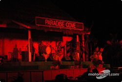 Hula stage show at Paradise Cove