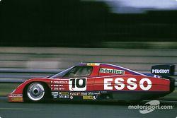 #10 WM Esso Peugeot WM: Roger Dorchy, Alain Couderc, Guy Fréquelin