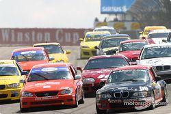 #06 ICY / SL Motorsports BMW Z3: Alan Himes, Rick Ellinger