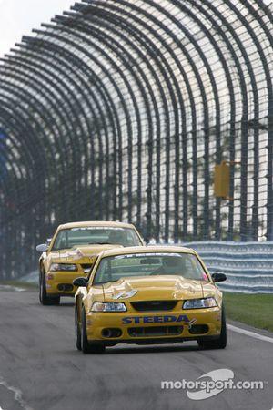La Mustang Cobra n°15 du Frederick Motorsports (David Brown, Cory Rudl)