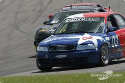 La Audi S4 n°03 LSCI Motorsports : Ray Bailey, Don Istook