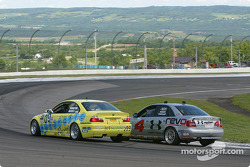 #09 Automatic Racing BMW M3: Jep Thornton, David Russell, #4 Istook / Aines Motorsport Group Audi S4: Gary Sheehan, Anders Hainer, Don Istook