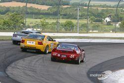 #30 Shreiner Racing Mustang Cobra: John Shreiner, Kenny Wilden, #51 DAL Motorsports Acura NSX: Pete Halsmer, Robert Morrison, Vaughn Duarte