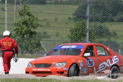 #0 Team Lexus Lexus IS300: Eddie Mady, Andy Brumbaugh