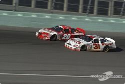 Mike Bliss and Todd Bodine