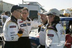 Paul Newman, Robert Sutton, Rod Millen and Jeff Zwart