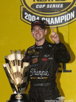 2004 champion Kurt Busch and the NASCAR NEXTEL Cup