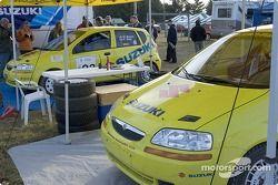 William Bacon et Peter Watt, 2004 Suzuki Swift, P-2; Thierry Menegoz et Elise Racette, 2004 Suzuki Swift, P-2
