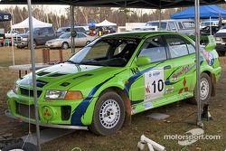 #10 - Réjean Losier et Art Losier, Mitsubishi Lancer Evo V de 1999, N-4
