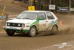 #15 - Gord Olsen and Todd Patola, VW Golf GTI de 1992
