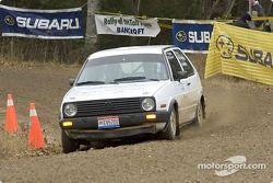 Justin Pritchard et Kim DeMotte, 1989 VW GTI, Groupe 2