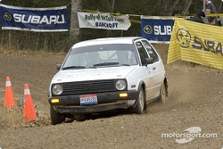 #31 - Justin Pritchard and Kim DeMotte, 1989 VW GTI, Grp 2