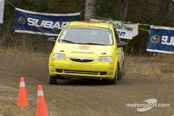 Thierry Menegoz et Elise Racette, 2004 Suzuki Swift, P-2