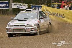 #14 - John Cassidy et Dave Getchell, Subaru Impreza WRX de 1998, Open