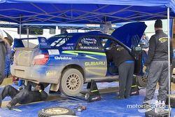 Patrick Richard et Nathalie Richard, 2003 Subaru Impreza WRX Sti N°2