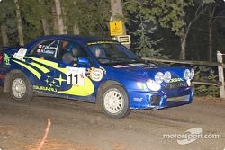 #11 - Norm LeBlanc and Paul DeLeeuw, Subaru Impreza de 2002, P-4