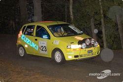 William Bacon et Peter Watt, 2004 Suzuki Swift, P-2
